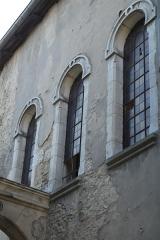 Synagogue -  Synagoge in Toul im Département Meurthe-et-Moselle (Lothringen/Frankreich), Fenster mit Hufeisenbögen