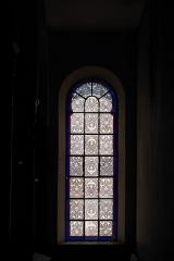 Synagogue - Deutsch:   Synagoge in Toul im Département Meurthe-et-Moselle (Lothringen/Frankreich), Innenraum, Fenster