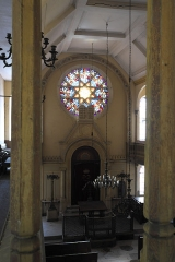 Synagogue -  Synagoge in Toul im Département Meurthe-et-Moselle (Lothringen/Frankreich), Innenraum