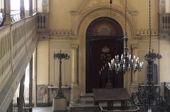 Synagogue - Deutsch:   Synagoge in Toul im Département Meurthe-et-Moselle (Lothringen/Frankreich), Innenraum