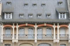 Maison -  Immeuble de l'entrepreneur France-Lanord, 1902-1904 Détail de l'étage en loggia Architecte Emile André (1871-1933) Nancy