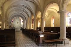 Eglise paroissiale de la Nativité de la Vierge dite Basilique Notre-Dame-de-Sion et ancien couvent des Tiercelins de Sion - Français:   Intérieur de la basilique