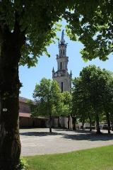 Eglise paroissiale de la Nativité de la Vierge dite Basilique Notre-Dame-de-Sion et ancien couvent des Tiercelins de Sion - Français:   La basilique