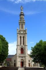 Eglise paroissiale de la Nativité de la Vierge dite Basilique Notre-Dame-de-Sion et ancien couvent des Tiercelins de Sion - Français:   Exterieur de la Basilique Notre-Dame de Sion