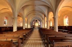 Eglise paroissiale de la Nativité de la Vierge dite Basilique Notre-Dame-de-Sion et ancien couvent des Tiercelins de Sion - Français:   Interieur de la Basilique Notre-Dame de Sion