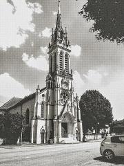 Eglise paroissiale de la Nativité de la Vierge dite Basilique Notre-Dame-de-Sion et ancien couvent des Tiercelins de Sion - Français:   La basilique de Sion. Meurthe-et-Moselle