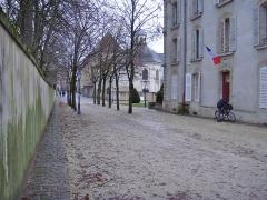 Ancienne gendarmerie - Français:   Nancy. Eglise et chapelle octogonale des Cordeliers.