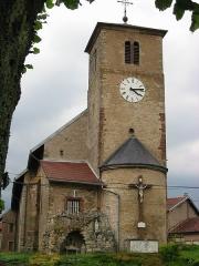 Eglise Saint-Martin -  Église Saint-Martin à Flin (Meurthe-et-Moselle)