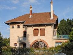 Eglise Saint-Martin -  La villa