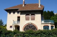 Eglise Saint-Martin - Villa Les Glycines (1902-1904), 5 rue des Brice, parc de Saurupt à Nancy, par Émile André.