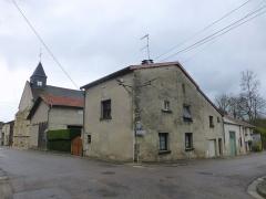 Eglise Saint-Calixte - Français:   L\'église et le centre de Savonnières-devant-Bar (Meuse)