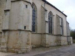 Eglise Saint-Calixte - Français:   Église Saint-Calixte (MH) de Savonnières-devant-Bar (Meuse)