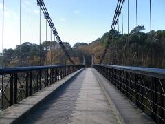 Le vieux pont suspendu -  le vieux pont du bono