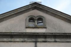 Synagogue - Deutsch: Synagoge in Phalsbourg im Département Moselle (Lothringen/Frankreich), Zwillingsfenster