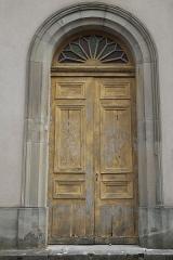 Synagogue - Deutsch: Synagoge in Phalsbourg im Département Moselle (Lothringen/Frankreich), Eingang zur Frauenempore