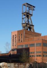 Carreau minier Vuillemin-Wendel - Deutsch: Schachtgerüst Wendel 2