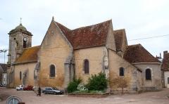 Eglise Saint-Sulpice - Français:   Entrains-sur-Nohain (Niévre, France); Église Saint-Sulpice