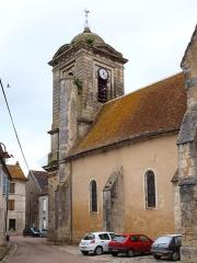 Eglise Saint-Sulpice - Français:   Entrains-sur-Nohain (Niévre, France); Église Saint-Sulpice.