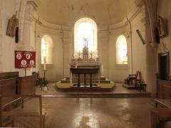 Eglise Saint-Sulpice - Français:   Église Saint-Sulpice d\'Entrains-sur-Nohain (Yonne, France); l\'intérieur