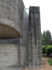 Eglise Sainte-Bernadette du Banlay - Français:   Nevers