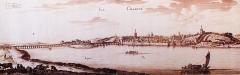 Grand pont sur la Loire - French engraver and drawer