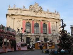 Opéra de Lille - Lille (France), l'Opéra (1914-1923) - Architecte: Louis Marie Cordonnier.