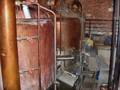 Ancienne brasserie-malterie Lefebvre-Scalabrino - English: hop boilers in the ancient brewery of Le Cateau Cambrésis, France