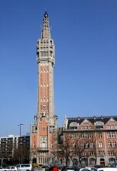 Hôtel de ville -  Beffroi de la mairie de Lille