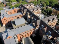 Hôtel de ville - Français:   L\'hôtel de ville de Lille vu depuis le beffroi.
