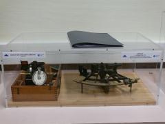 Observatoire de l'Institut de mathématiques appliquées et d'astronomie - English: Navigation sextant at Lille observatory (Nord, France).