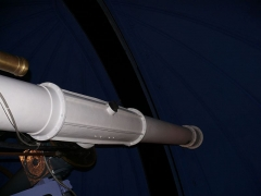 Observatoire de l'Institut de mathématiques appliquées et d'astronomie - English: Refracting telescope at Lille observatory (Nord, France).