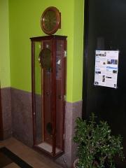 Observatoire de l'Institut de mathématiques appliquées et d'astronomie - English: Clock at Lille observatory (Nord, France).