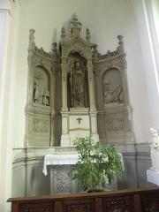 Eglise Notre-Dame du Tilleul ou église de Sous-le-Bois - Français:   Église Notre-Dame-du-Tilleul de Maubeuge autel droit