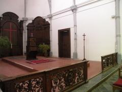 Eglise Notre-Dame du Tilleul ou église de Sous-le-Bois - Français:   Église Notre-Dame-du-Tilleul de Maubeuge choeur