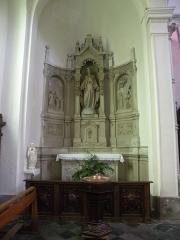 Eglise Notre-Dame du Tilleul ou église de Sous-le-Bois - Français:   Église Notre-Dame-du-Tilleul de Maubeuge autel de gauche