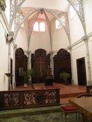 Eglise Notre-Dame du Tilleul ou église de Sous-le-Bois - Français:   Église Notre-Dame-du-Tilleul de Maubeuge autel