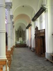 Eglise Notre-Dame du Tilleul ou église de Sous-le-Bois - Français:   Église Notre-Dame-du-Tilleul de Maubeuge bas coté droit