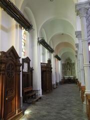 Eglise Notre-Dame du Tilleul ou église de Sous-le-Bois - Français:   Église Notre-Dame-du-Tilleul de Maubeuge bas coté gauche