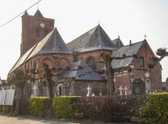 Eglise Saint-Martin - Nederlands: Arneke Churchyard