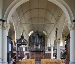 Eglise Saint-Martin - Français:   L\'orgue de l\'église Saint-Martin d\'Arnèke.