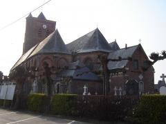 Eglise Saint-Martin -  Eglise Saint-Martin in Arnèke, Nord, Nord-Pas-de-Calais, France