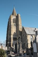Eglise Saint-Omer - Deutsch: Katholische Kirche Saint-Omer in Bambecque im Département Nord (Hauts-de-France/Frankreich)