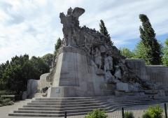 Monuments aux morts dit Monument de la Victoire - Français:   Monument de la Victoire (Tourcoing) côté droit