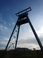 Fosse n° 9 dite de l'Escarpelle - English: Pit number 9, Compagnie des mines de l'Escarpelle, Roost-Warendin, Nord, Nord-Pas-de-Calais, France.