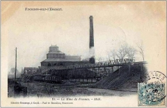 Anciens bureaux de la compagnie de mines de Thivencelles et Fresnes-Midi - Français:   Fosse aujourd\'hui disparue implantée jadis sur la commune de Fresnes sur l\'Escaut