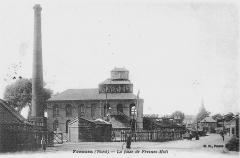 Anciens bureaux de la compagnie de mines de Thivencelles et Fresnes-Midi - Français:   La Fosse Soult n° 1 de la Compagnie des mines de Thivencelle était un charbonnage constitué d\'un seul puits situé à Fresnes-sur-Escaut, Nord, Nord-Pas-de-Calais, France.