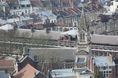 Temple protestant - Français:   Temple de l\'église réformée de France de Lille.