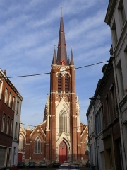 Eglise Notre-Dame de Fives - English: The church of Our Lady of Fives (Lille, Nord, France).