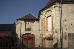 Eglise de la Madeleine - English: Noyon; Ancienne église Sainte-Marie Madeleine; Nord-Pas-de-Calais-Picardie, Oise; France; ref: PM_102960_F_Noyon; Cultural heritage; Europe/France/Noyon; Wiki Commons; photo: Paul M.R.Maeyaert; www.pmrmaeyaert.eu; © Paul M.R. Maeyaert; pmrmaeyaert@gmail.com