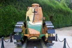 Clairière de l'Armistice -  Renault FT-17 tank on display at the Clairière de l'Armistice near Compiègne